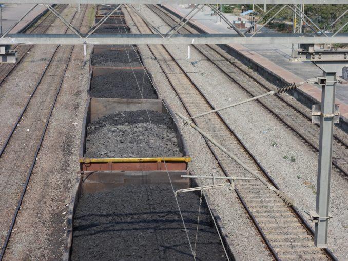 Coal train at Yerraguntla